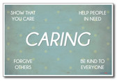 Caring - NEW Classroom Motivational Poster