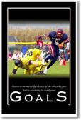 Goals - NEW Classroom Motivational Poster