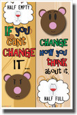 If You Can't Change It - NEW Classroom Motivational Poster