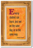 Every Student Can Learn 2 - NEW Classroom Motivational Poster