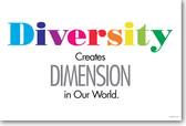 Diversity Creates Dimension In Our World
