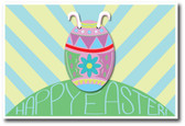 Easter Bunny hiding in an Easter Egg - Happy Easter PosterEnvy Holiday Poster