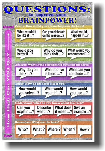 PosterEnvy - Questions to Improve Your Brainpower! - POSTER