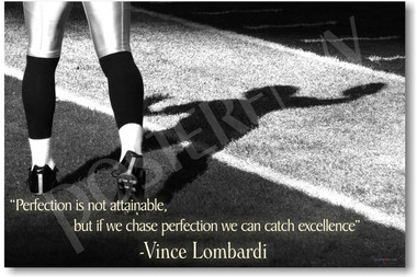 Vince Lombardi football motivational classroom PosterEnvy poster
