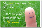 Being happy doesn't mean that everything is perfect - Poster
