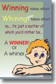 Winning Takes Effort