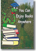 You Can Enjoy Books Anywhere