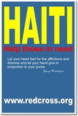 Haiti relief - Help those in need - red cross