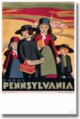 Rural Pennsylvania - Katherine Milhous- NEW Vintage Reprint Poster