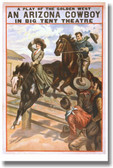 Arizona Cowboy - Vintage Reproduction WPA Poster