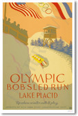 1932 Olympic Bobsled Run Lake Placid