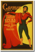 Carmen presented by Cuyahoga County Opera Association