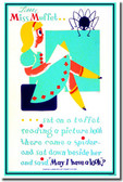Little Miss Muffet - Reading Library Poster