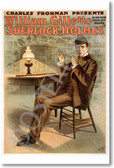 PosterEnvy - Sherlock Holmes - William Gillette - NEW Vintage Movie Poster