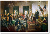 PosterEnvy - Howard Chandler Christy - Scene At the Signing of the Constitution of the United States - 1940