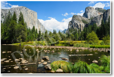 PosterEnvy Valley View in Yosemite National Park poster photo mountains lake natural beauty