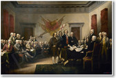 John Trumbull 1819 - Declaration of Independence