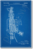 AR 15 Assault Rifle Patent - NEW Famous Invention Patent PosterEnvy Poster (fa114)