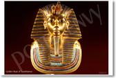 Golden Mask of Tutankhamun - Photo by Carsten Frenzl - CC SA 20