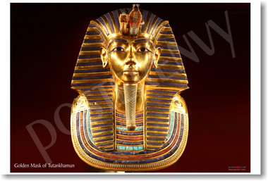 Golden Mask of Tutankhamun - Photo by Carsten Frenzl - CC SA 20