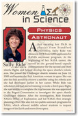 Sally Ride - Famous Women Poster Print Gift