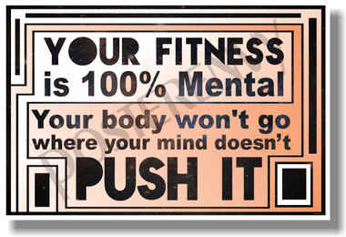 Your Fitness - NEW Motivational Health and Fitness Poster (he032)
