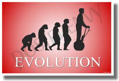 Segway Evolution - Red - Poster Print Gift