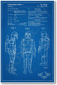 Boba Fett Patent - NEW Famous Invention Blueprint Star Wars Poster (fa116)