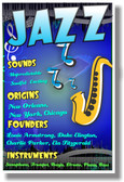 Jazz - Music Poster (mu078)