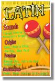 Latin - NEW Music Poster (mu079)