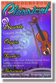 Classical - NEW Music Genre Poster (mu082)