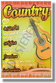 Country - NEW Music Genre Poster (mu083)