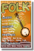 Folk - NEW Music Genre Poster (mu084)