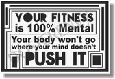 Your Fitness 2 - NEW Motivational Health and Fitness Poster (he033)