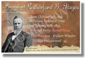 Presidential Series - U.S. President Rutherford Hayes - New Social Studies Poster