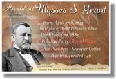 Presidential Series - U.S. President Ulysses S. Grant - New Social Studies Poster