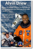 Alvin Drew - NEW NASA African American Astronaut Space Shuttle Poster (fp360) PosterEnvy