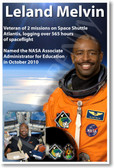Leland Melvin - NEW NASA African American Astronaut Space Poster (fp361) PosterEnvy