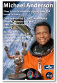 Michael Anderson - NEW NASA African American Astronaut Space Poster (fp362) PosterEnvy