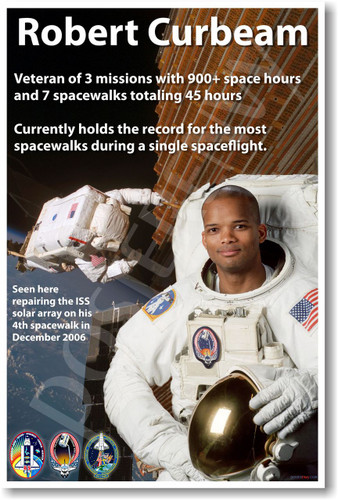Robert Curbeam - NEW NASA African American Astronaut Space Poster (fp363) PosterEnvy