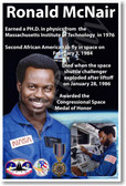 Ronald McNair - NEW NASA African American Astronaut Space Poster (fp364) PosterEnvy