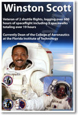 Winston Scott - NEW NASA African American Astronaut Space Shuttle Poster (fp365) PosterEnvy