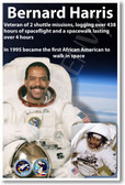 Bernard Harris - NEW NASA African American Astronaut Space Shuttle Poster (fp366) PosterEnvy
