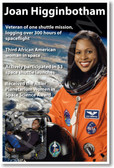 Joan Higginbotham - NEW NASA female woman African American Astronaut Space Shuttle Poster (fp367) PosterEnvy