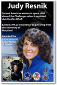 Judy Resnik - NEW NASA American Astronaut Space Shuttle Female Woman Women Poster (fp368)