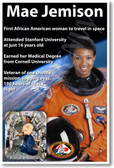 Mae Jemison - NEW NASA African American Astronaut Space Shuttle Poster (fp370) Woman Female Women PosterEnvy