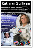 Kathryn Sullivan - NEW NASA American Woman Female Women Astronaut Space Shuttle Poster (fp371) PosterEnvy