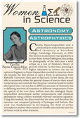 Cecilia Payne-Gaposchki - Women in Science Astronomy - NEW Classroom Poster (fp379) PosterEnvy
