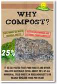 Why Compost? How Much Saved? - NEW Healthy Planet Recycle Poster (he056) PosterEnvy Recycle Reduce Reuse Sustainable
