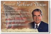 Presidential Series - U.S. President Richard Nixon - New Social Studies Poster (fp393) American History PosterEnvy